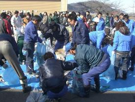可児川一斉清掃